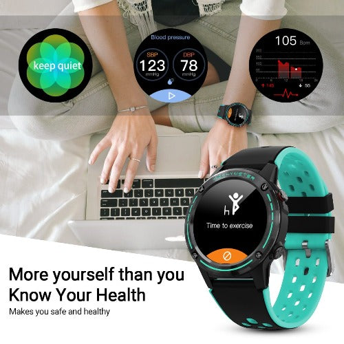 fuchusi fitness smart watch with smart features