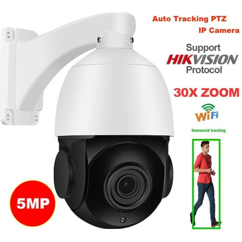 TOPGUARD IZOOM 5MP PTZ CCTV OUTDOOR 30 X ZOOM CAMERA