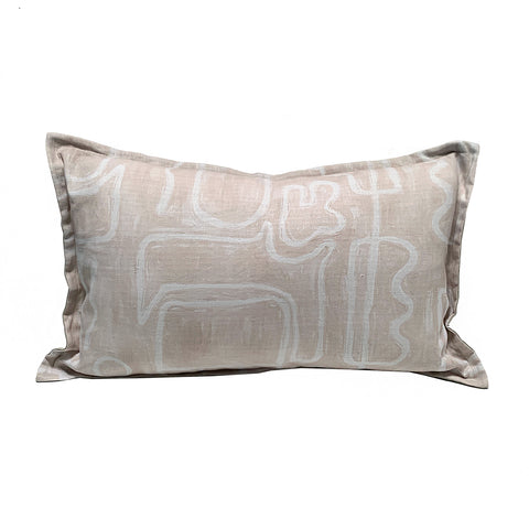Abstract Pillowcase - Linen