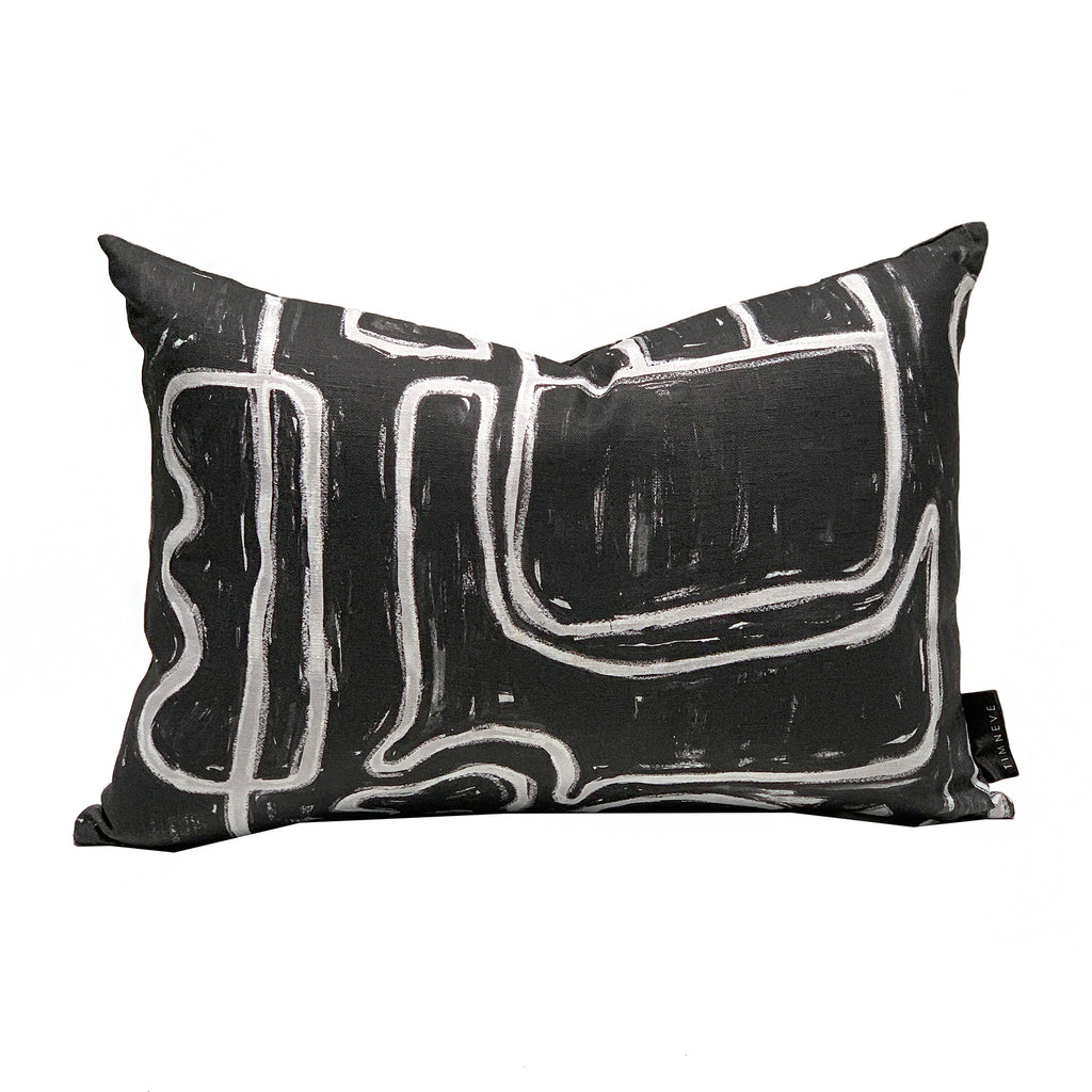 Abstract Cushion - Mono