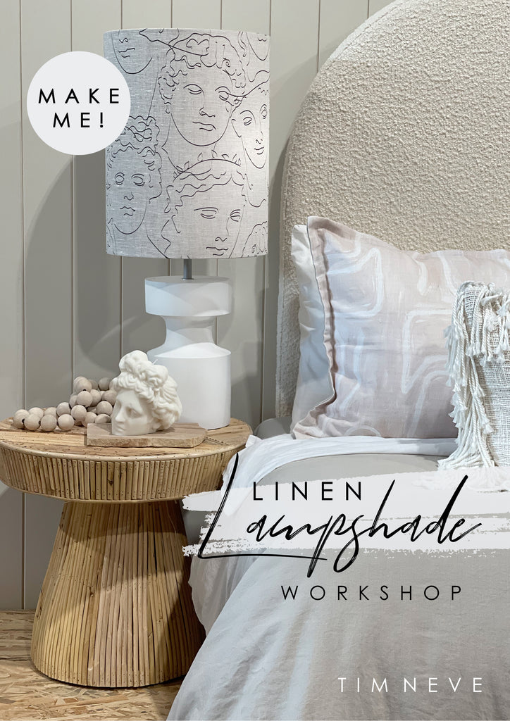 Ticket: Linen Lampshade Workshop
