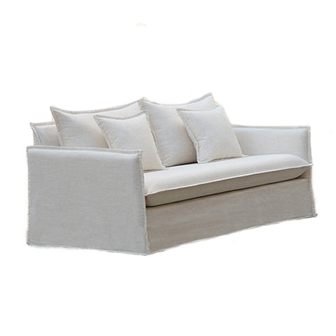 Linen Slipcover 2-Seater Sofa