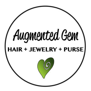 Augmented Gem Hair Jewelry Purse