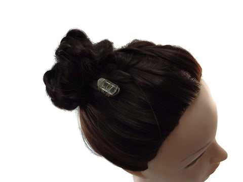 Clear Quartz Hair Pins U Shape - Augmented Gem Jewelry