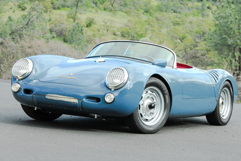 Seduction Motorsports 550 Spyder - Aquamarine Blau Non-Metallic/R.R. Red Leather - Type 1 2180cc Aircooled