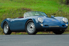 Seduction Motorsports 550 Spyder - Aquamarine Blau Non-Metallic/R.R. Red Leather - Type 1 2180cc Aircooled - Seduction Motorsports