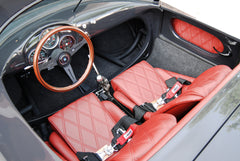 Seduction Motorsports 550 Spyder Outlaw - GTIII Grey/Red Leatherette - Subaru 2.5L NA - Seduction Motorsports