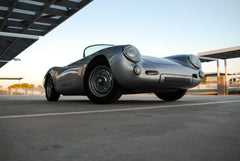 Seduction Motorsports 550 Spyder - Silver Metallic/Blue Leather - VW Type 1 Aircooled - Seduction Motorsports