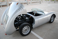 Seduction Motorsports 550 Spyder - Silver Metallic/Blue Leather - VW Type 1 Aircooled