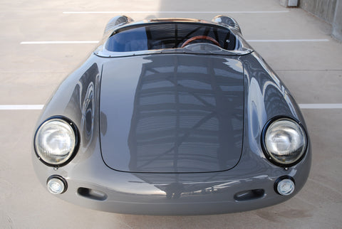 Seduction Motorsports 550 Spyder Outlaw - Nardo Grey/Black Leather - VW Type 1 2054cc Aircooled