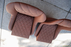 "Spyder ""Small Double Diamonds"" Seats - Seduction Motorsports"