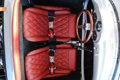 Seduction Motorsports 550 Spyder - Silver Metallic/Red Leatherette - Subaru 2.5L NA - Seduction Motorsports