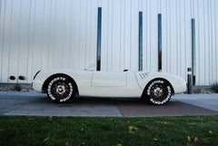 Seduction Motorsports 550 Spyder Outlaw - White/Black & Yellow Alcantara - Subaru 2.5L NA - OMP Edition