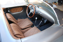 Seduction Motorsports 550 Spyder - Mineral Silver/Bomber Leather - VW Type 1 2276cc Aircooled - Seduction Motorsports