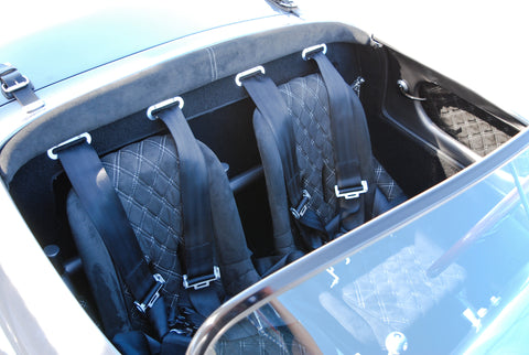 Spyder Aluminum Seat Belt Bezels - Seduction Motorsports