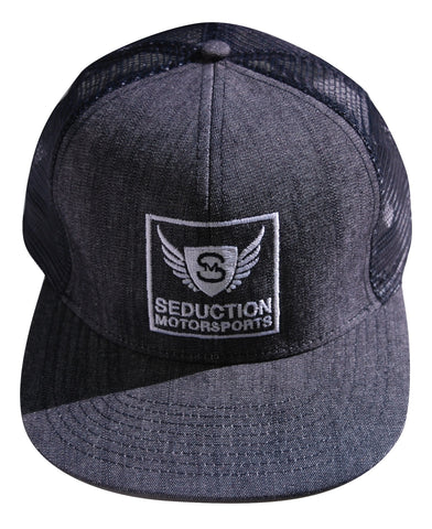 "Seduction ""Official Boss"" Snapback Hat - Seduction Motorsports"