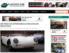 FlatSixes - September 2016 -  Are These 550 Spyder Replicas The Ultimate Seduction? - Seduction Motorsports
