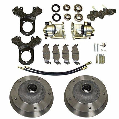 Complete Deluxe Front Disc Brake Kit - Wide-5 (5x205mm) - Zero Offset - Ball Joint