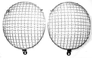 Headlight Mesh Grille Set - Clip-on - Fits all 356 & 550 - Seduction Motorsports