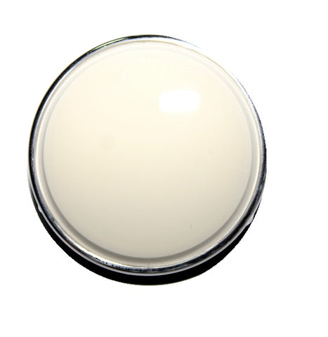 Banjo Steering Wheel Horn Button - Ivory - Seduction Motorsports