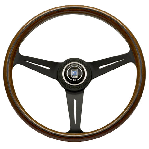 Nardi Steering Wheel - Classic Wood with Black Spokes - 360mm - Seduction Motorsports