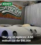 USA TODAY - August 2017 - The joy of replicas: A $5 million car for $50,000