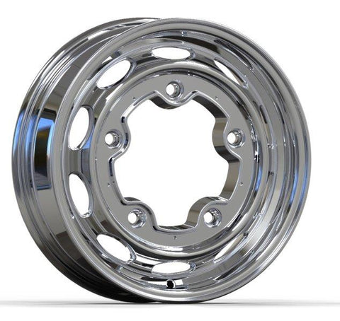 Wide-5 (5x205mm) 5-Bolt Vintage 190 - Polished Aluminum Wheel 15x4.5 - Seduction Motorsports