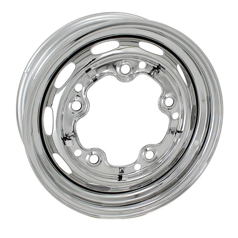 Wide-5 (5x205mm) 5-Bolt Chrome Steel Wheel 15x5.5