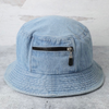Light Wash Bucket Hat - Boutique For Her