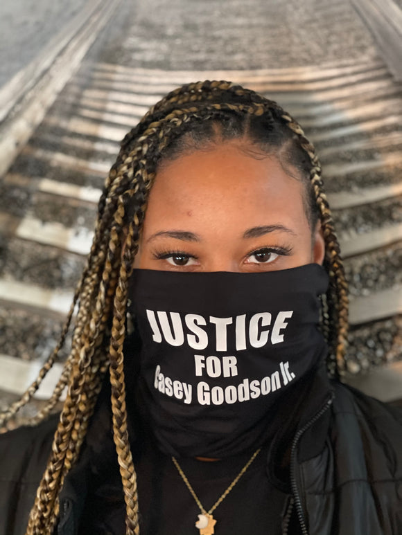 Justice For Casey Goodson Jr Mask
