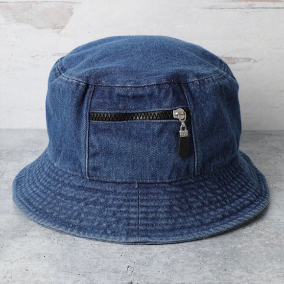 Dark Wash Denim Hat