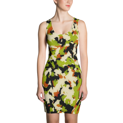 Camo Nation Bodycon Dress