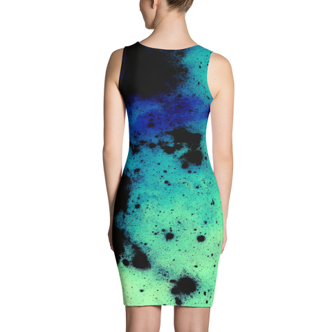 Inkblot Angel Bodycon Dress