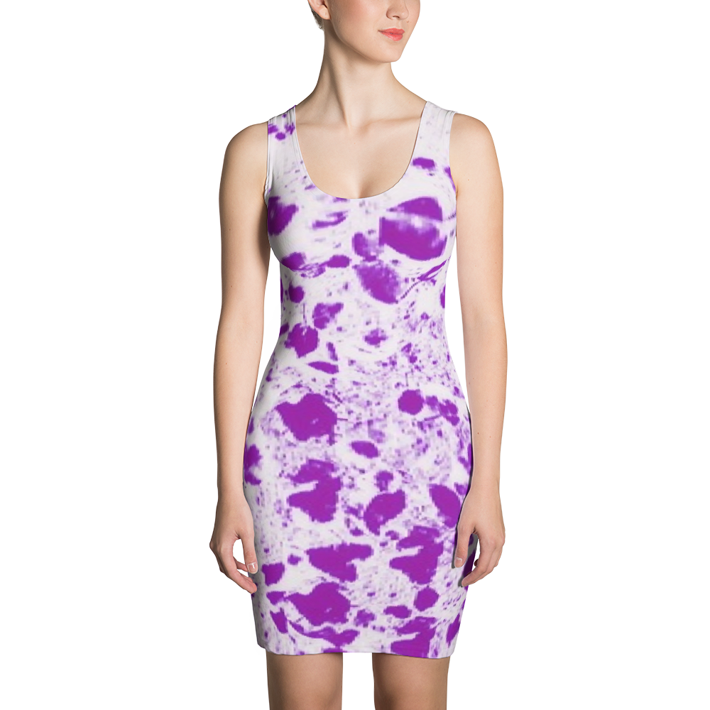 Spring Leaves Bodycon Dress