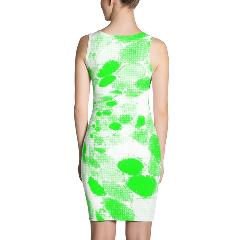 Trippy Dots Bodycon Dress