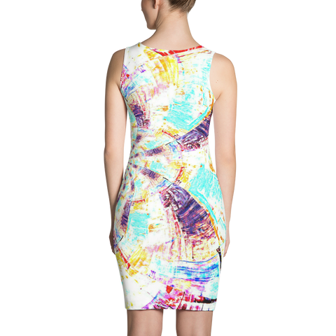 Trippy Bodycon Dress