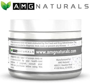 Organic Activated Bamboo Charcoal Powder by AMG Naturals