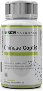 Chinese Coptis by AMG Naturals (coptis chinensis) aka Golden Thread