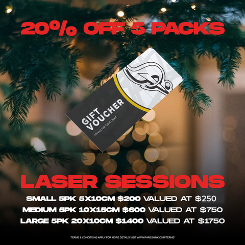 Christmas Pack | Laser Sessions