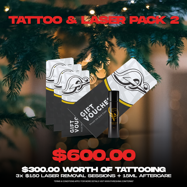 Christmas Pack | Tattoo & Laser (Pack 2)