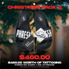 Christmas Pack 2 | Tattoo, slides & aftercare