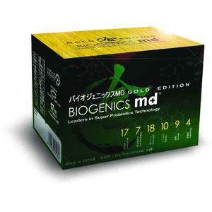 BIOGenics MD Probiotics - Gold Edition - BIOe Online