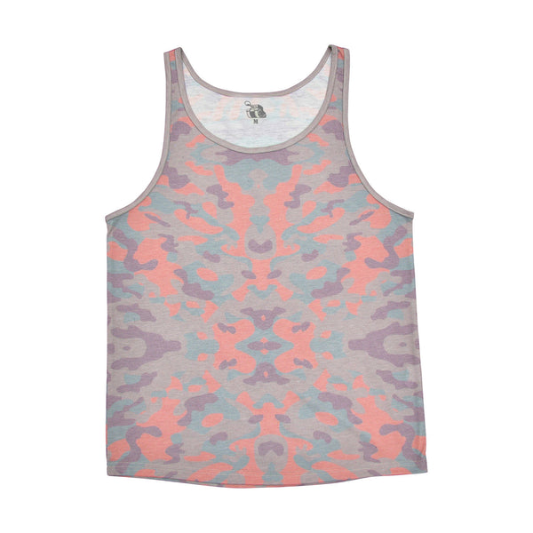 GAYTANKS Berry Camo tank-top product photo