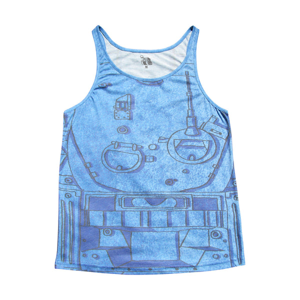TANK SCHEMATIC tank top