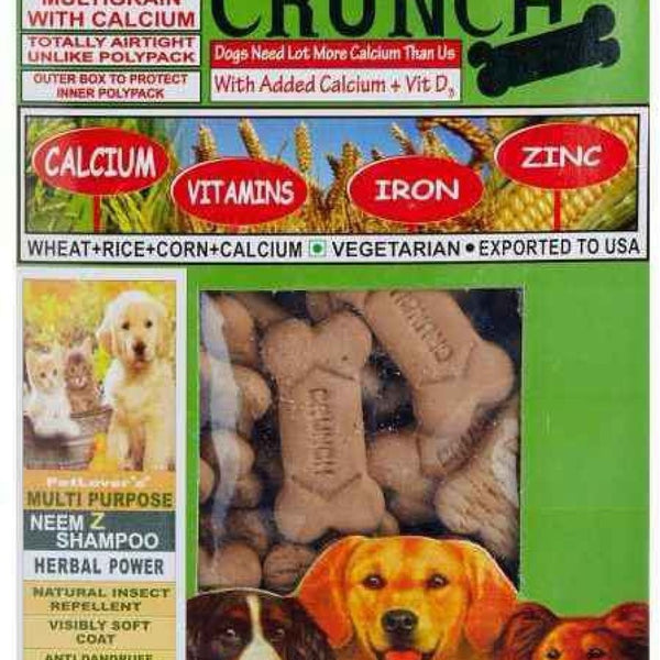 PetLover's Crunch Biscuits - Vegetarian