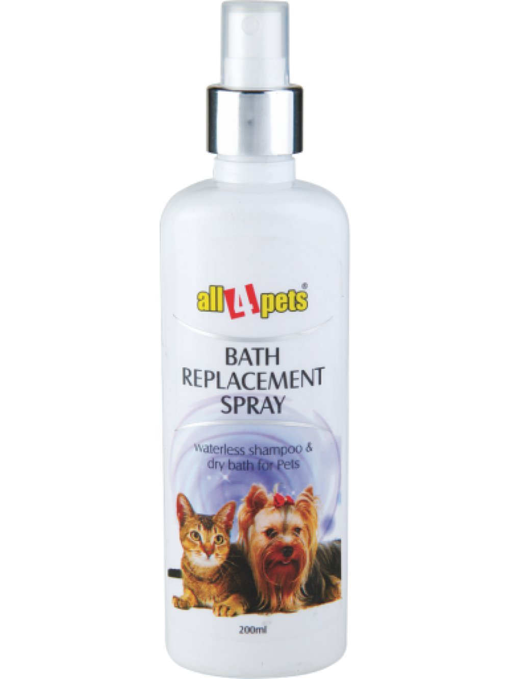 All4Pets Bath Replacement Spray