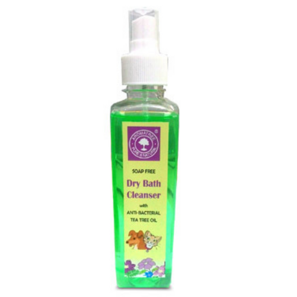 AromaTree Dry Bath Cleanser with Anti-Bacterial Tea Tree Oil