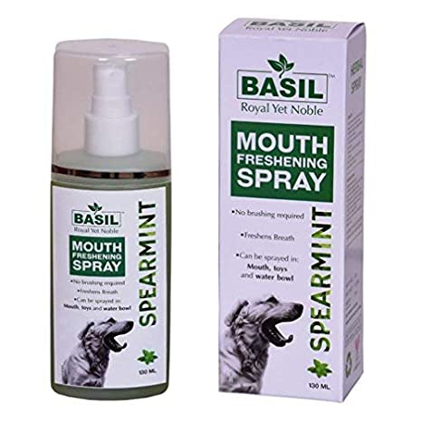 Basil Mouth Freshening Spray