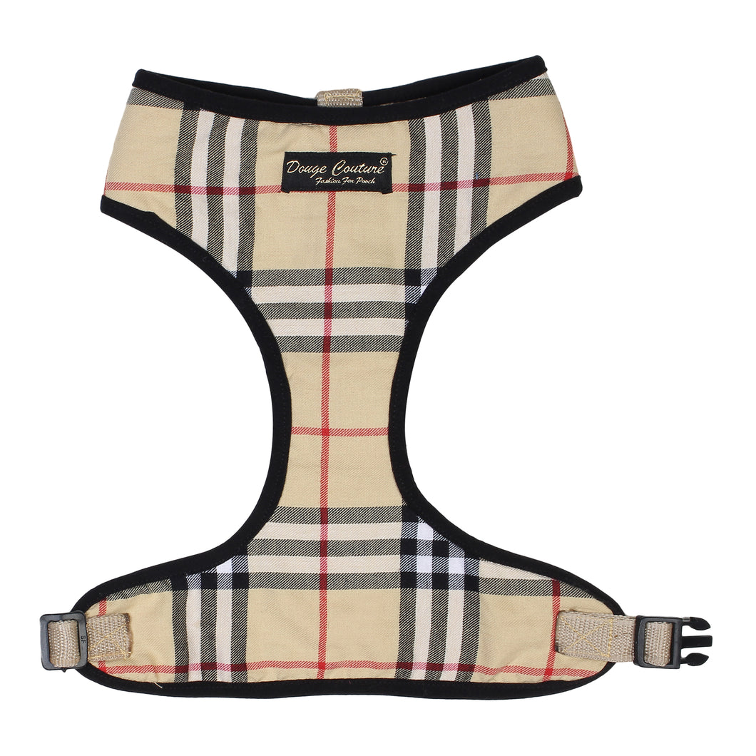 Beige Checkered Harness