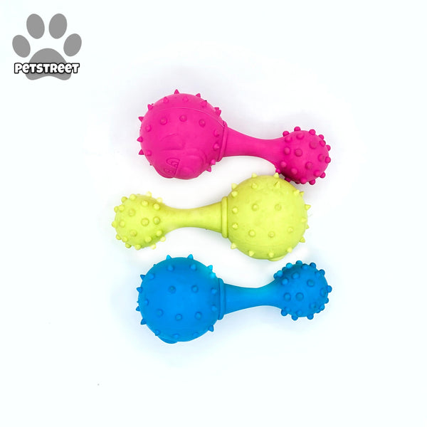 Dogista Rubber Toy - Dumbbell